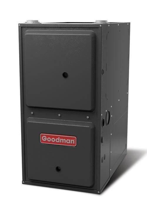40 000 Btu 96 Afue Downflow Single Stage Goodman Gas Furnace Heating Systems Home Furnace Natural Gas Furnace