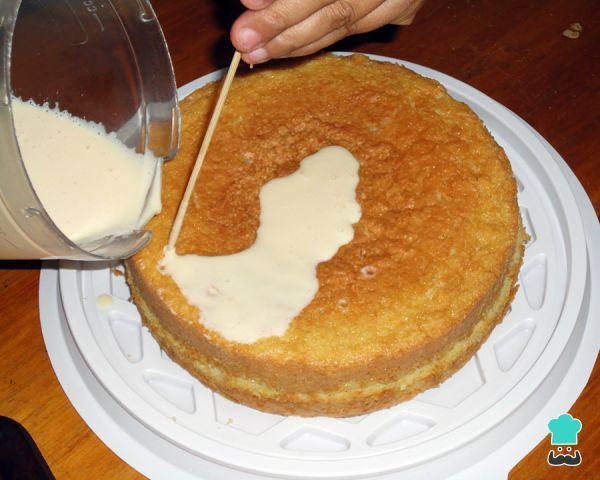 Torta Tres Leches Receta Receta De Torta Tortas Pastel De Tres Leches Receta