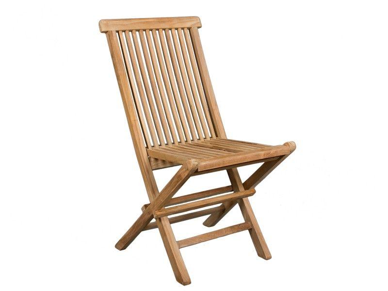 sillas plegables de madera de teka