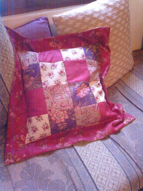 Cushion cover from Atelier fabric by Moda