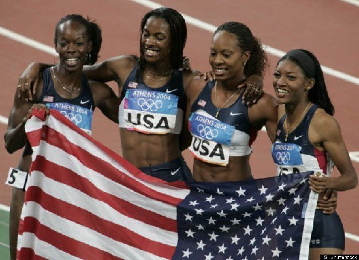 The Women Of The Olympics Then And Now