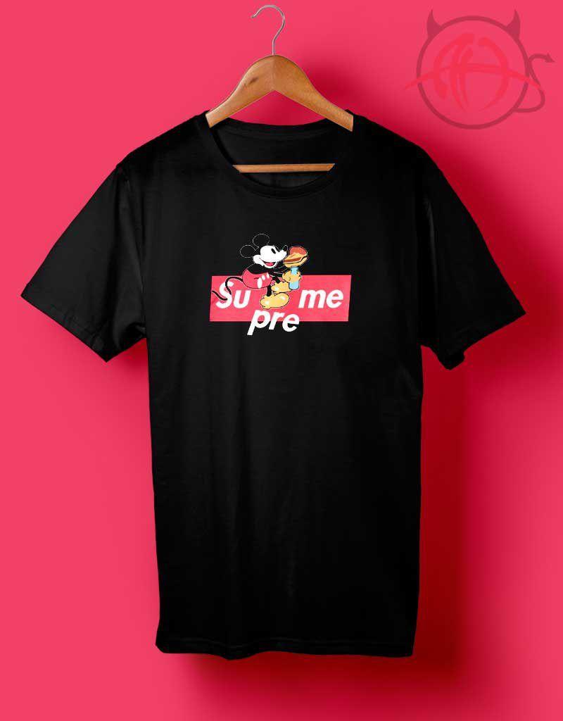db2441f7cbb Mickey Mouse Box Logo Supreme T Shirt