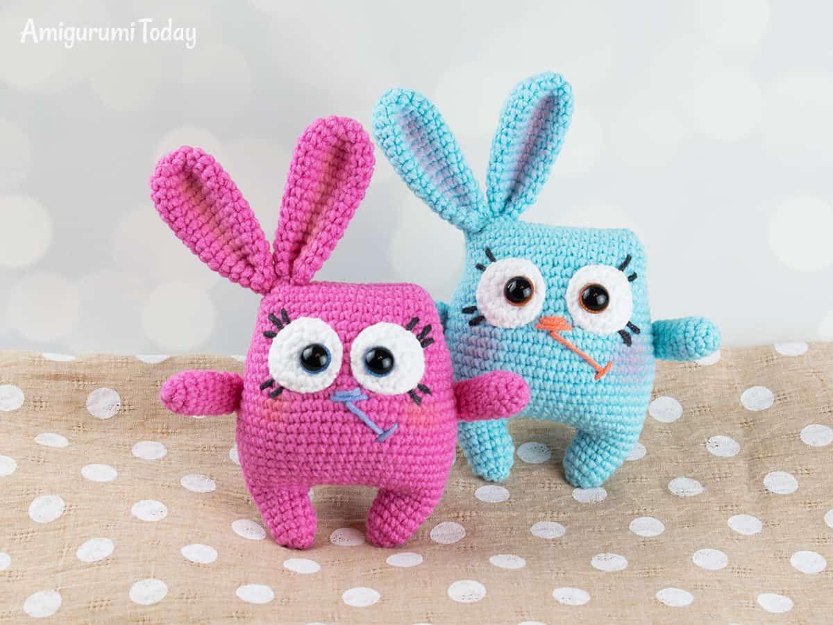 Amigurumi Bunny Free : Easter bunny amigurumi pattern free amigurumi patterns easter