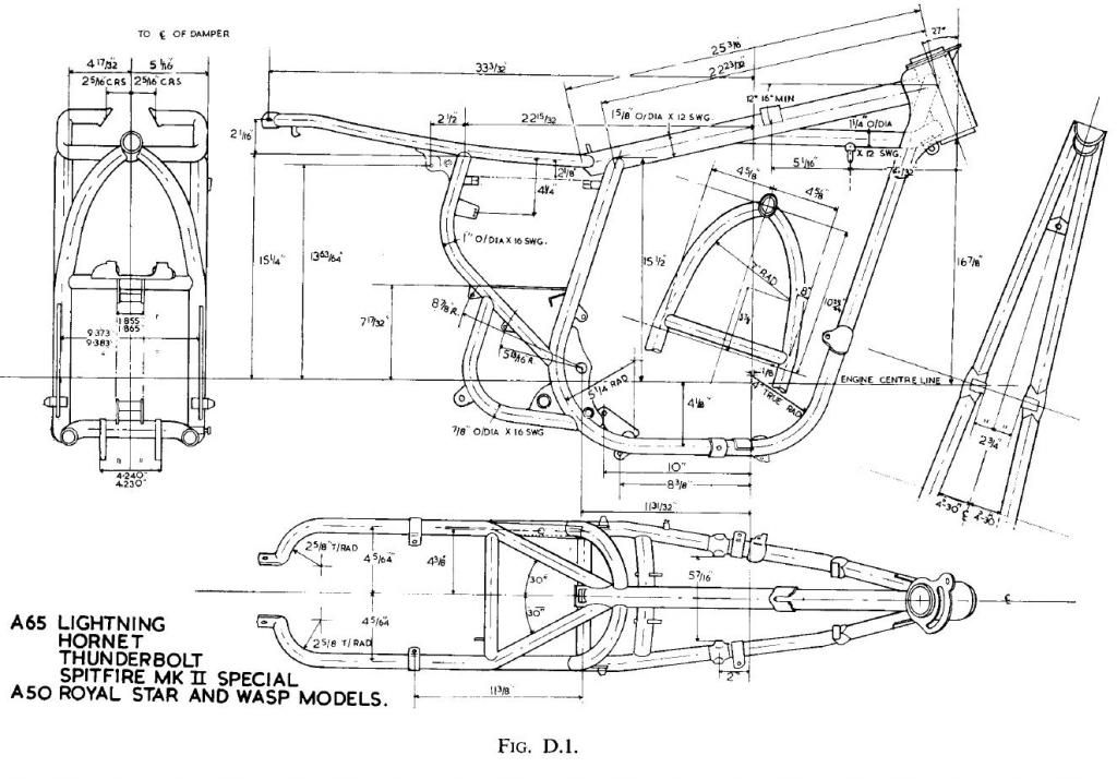 bsa a65 and a50 frame motorcycle engines and blueprints rh pinterest com 1970 bsa a65 wiring diagram 1969 bsa a65 wiring diagram