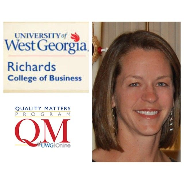 Congrats to Cheryl Brown of the Department of Marketing and Real Estate in the Richards College of Business, on her successful completion of the UWG Online QM Training Program! #uwgonline #uwg #qualitymatters #blazingtrailstonewpossibilties