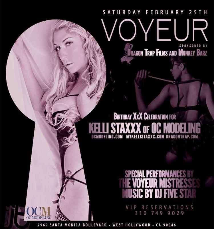 Jamie Barren Presents Voyeur La Nightclub Saturday February 25 2012 Hosted By Adult Film Star