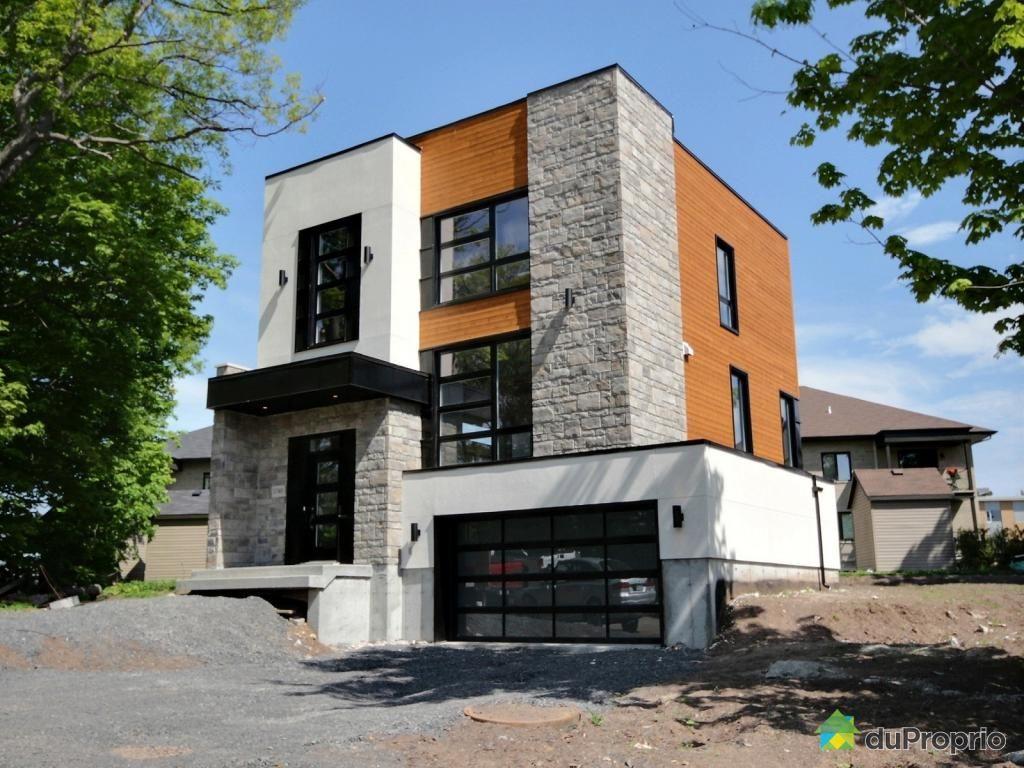 Maison Neuve à Vendre Ste Foy 3740 Rue Du Libraire Carré St Louis Immobilier Québec Duproprio 524053 Home Decor Home Fireplace