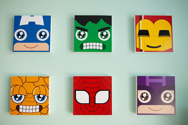 Superhero Wall Decor the cutest superhero nursery ever! van and baby j will get along
