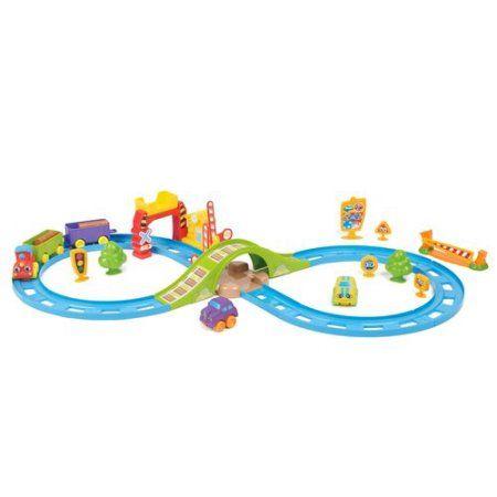 Kid Connection 30-Piece Train Set - Walmart.com   JBE Ideals ...