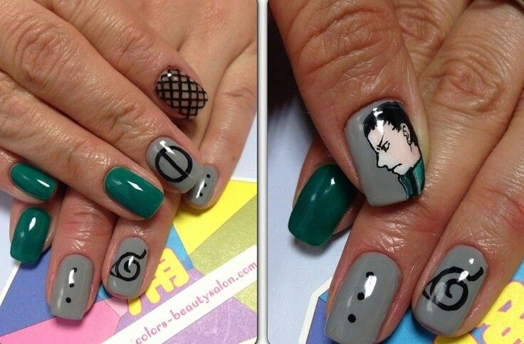 Pin by Rebecca Delgado on Inuyasha | Pinterest | Naruto and Anime nails