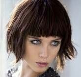 Short with bangs