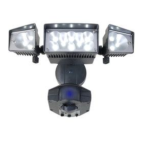 Utilitech 360 Degree 3 Head Led Motion Activated Flood Light