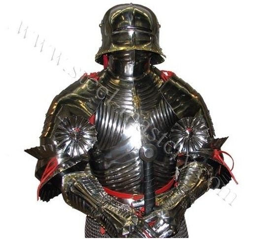 steel gothic full plate armor armor pinterest