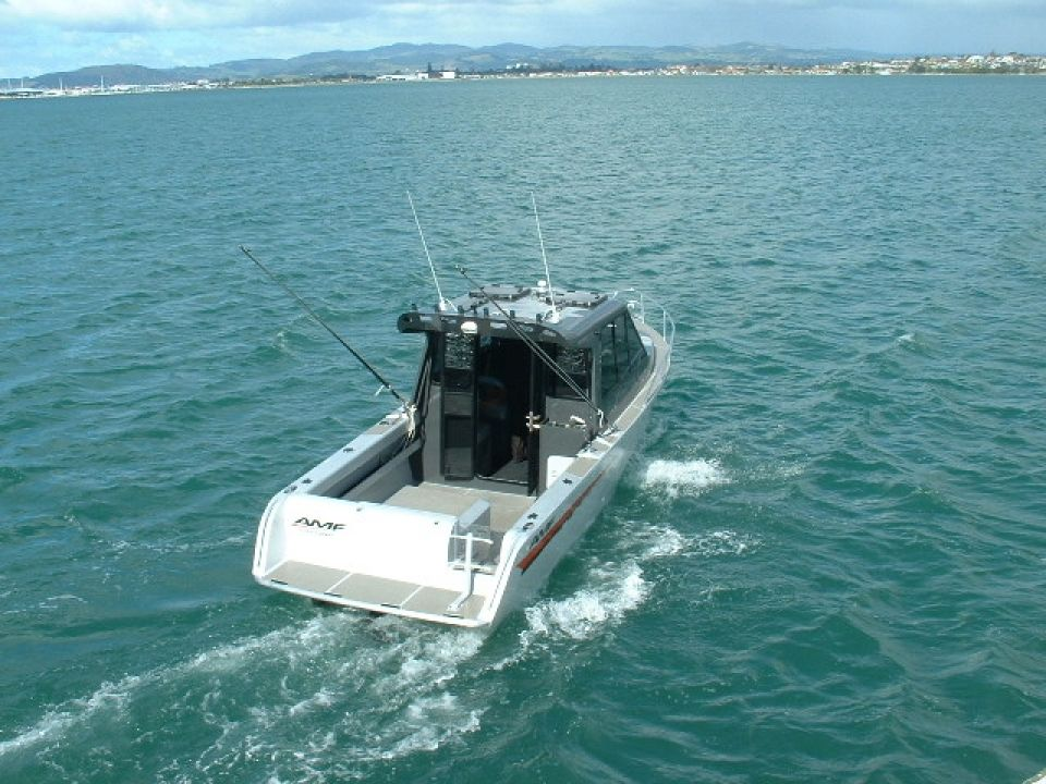 AMF Boats - Alloy Boat Builders: AMF 660 Vee Berth Cabin