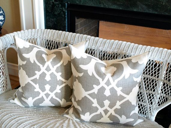 Kravet  POETICAL Barbara Barry Pillow Cover in by BeckwithTextiles, $75.00