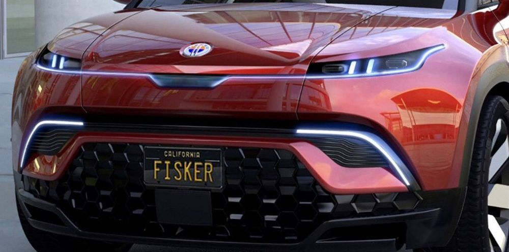 Fisker unveils picture of its electric SUV, says it will