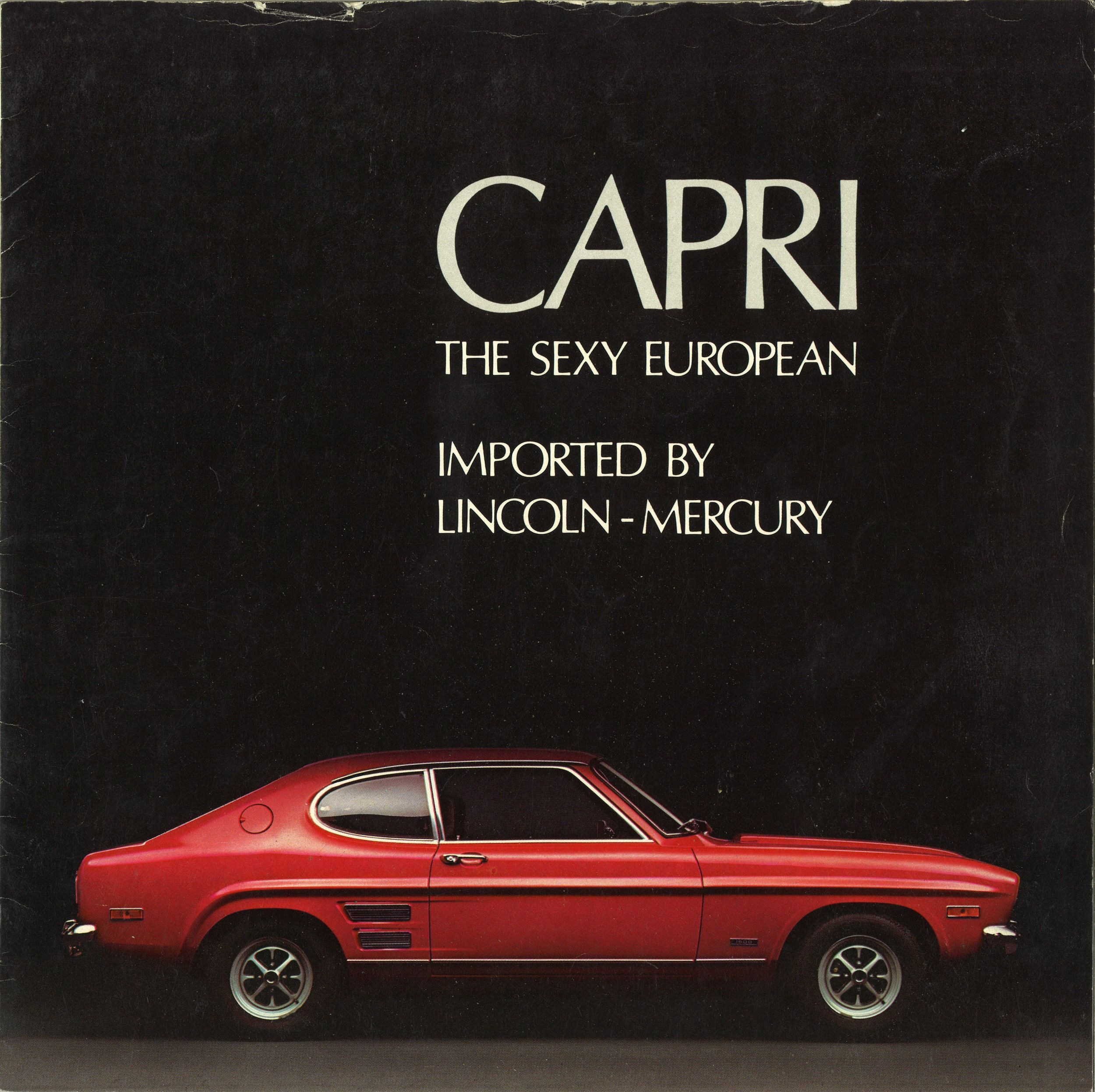 The Sexy European 1970 Ford Capri brochure | Hemmings Daily  sc 1 st  Pinterest : ford capri cars - markmcfarlin.com