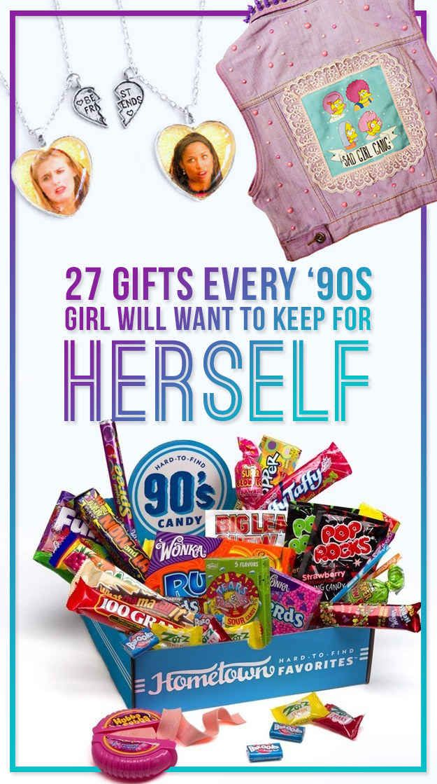 27 Gifts Every '90s Girl Will Want To Keep For Herself  This stuff is so cool!!!