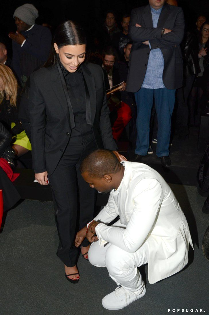 Kim Kardashian And Kanye West Sure Have A Lot Of Sweet Moments Together See Them All Kim And Kanye Kim Kardashian And Kanye Kanye West And Kim