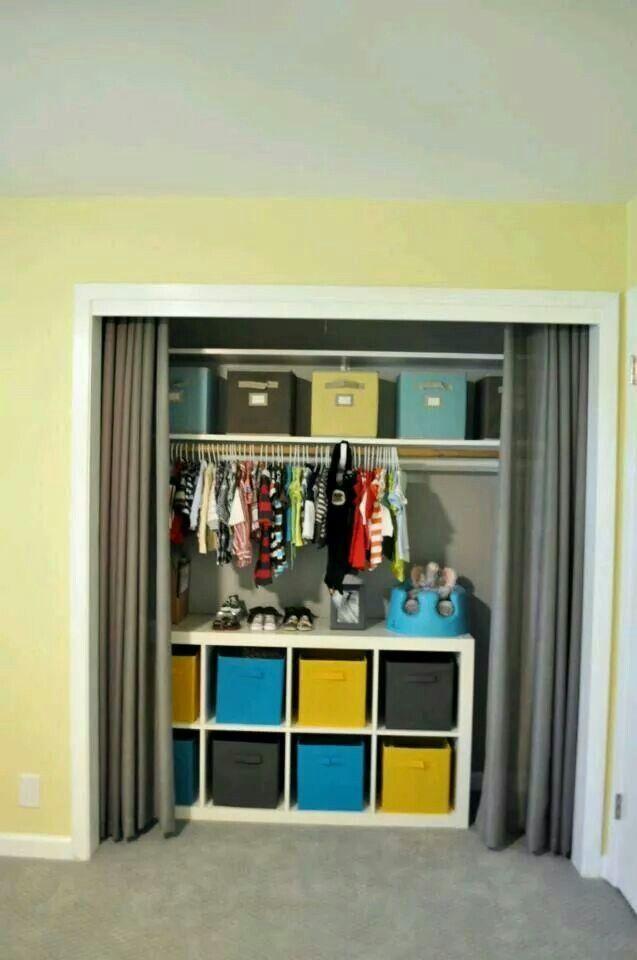 Closet de ni os closet ni os en 2019 habitacion bebe for Cortinas departamentos pequenos
