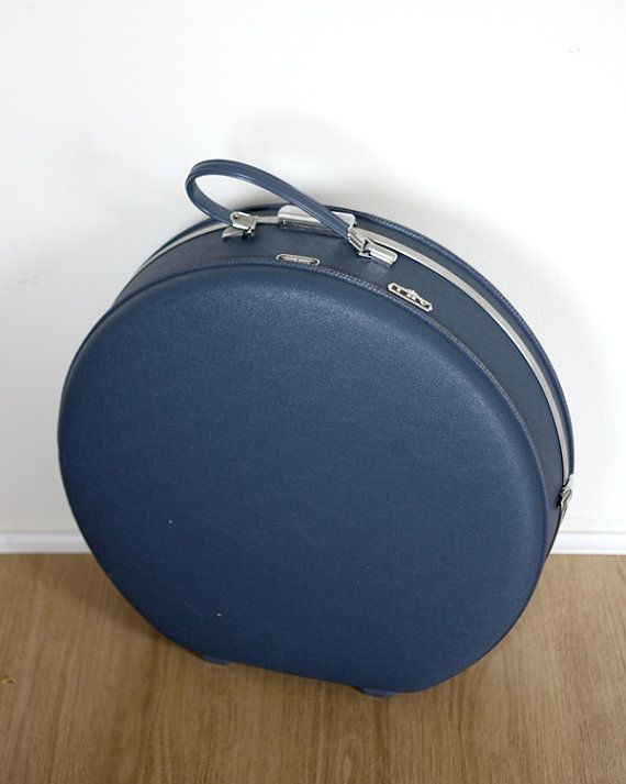 Vintage American Tourister IHV Round Suitcase by GoldAntlers ...