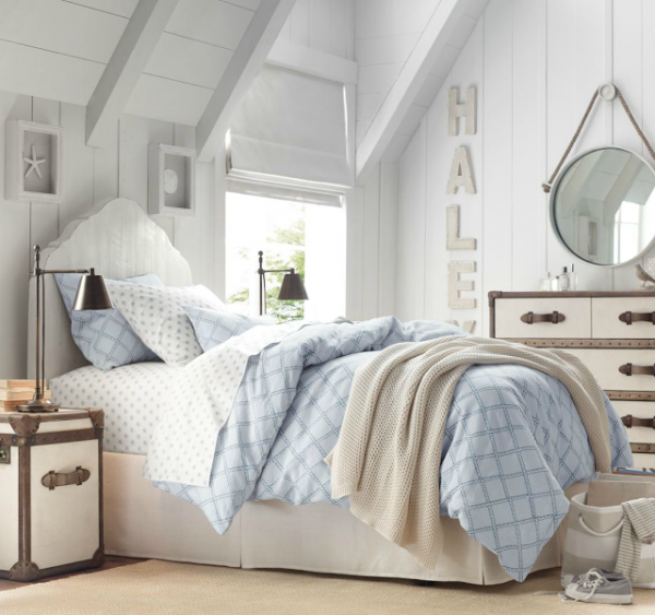 Beach House Decorating: Muted Coastal Bedroom   Sally Lee By The Sea
