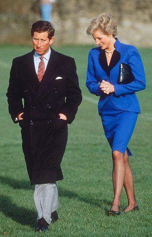 Blue, a favorite color of Princess Diana