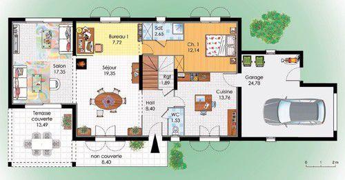 Maison Du Sud | Maisons Du Sud, Plans De Maison Du Sud Et Faire