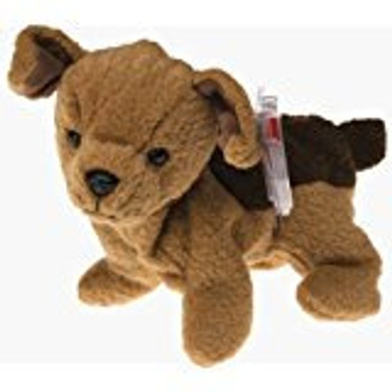 d67a480b038 Beanie Baby Tuffy the Dog With Tag and Tag Protector TY 1997 ...