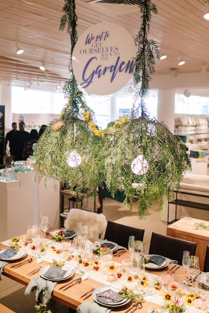 Crate & Barrel Private Registry Event with 100 Layer Cake
