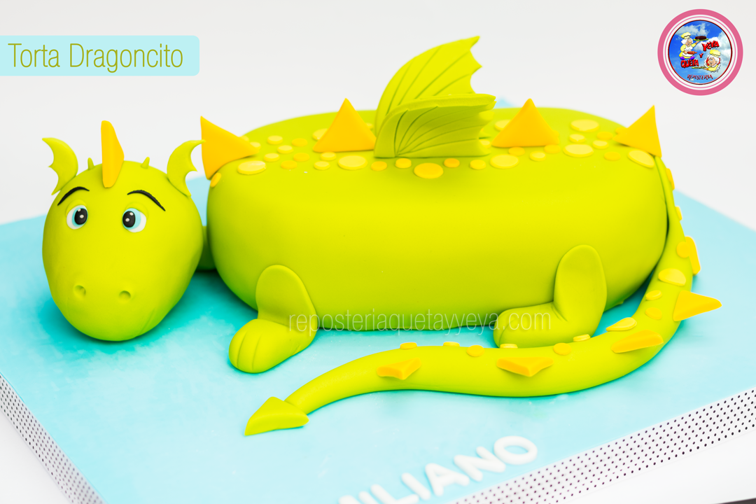 Torta dragoncito - Dragon cake