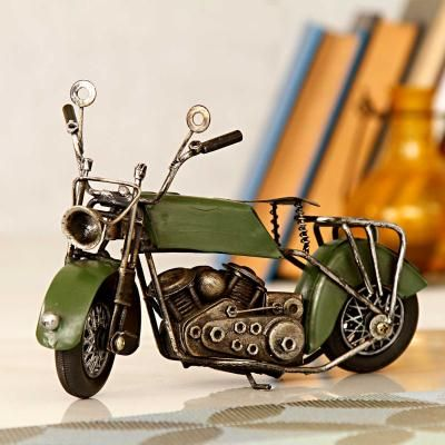Green Vintage Motorcycle Collectible Gift DeliveryOnline GiftVintage MotorcyclesIndia UsaAnniversary GiftsBirthday