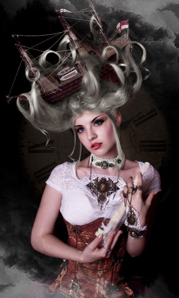 A Sailor S Bride By Drusilla Du Charme Mode Frisuren Steampunk Kleidung Neue Mode