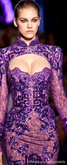 Zuhair Murad Haute Couture   F/W 2011 No te pierdas nuestras novedades y visítanos https://www.facebook.com/pages/EXPONLINE/141220162699654🌷❤