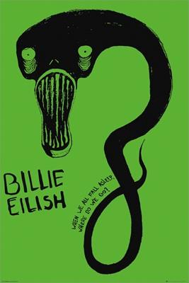 Billie Eilish Ghoul Maxi Poster Billie Billie Eilish How To Fall Asleep
