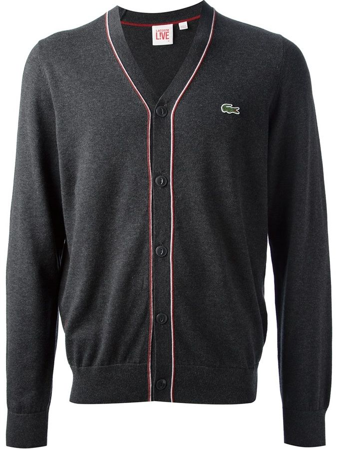 new arrival best authentic competitive price Lacoste Live v-neck cardigan on shopstyle.com   Lacoste   V ...