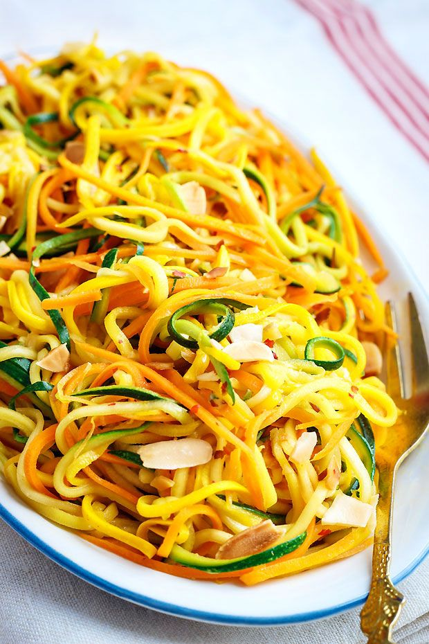 Sauteed Summer Squash And Carrot Butternut Squash