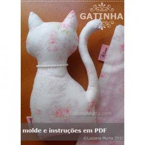 Molde Gatinha | Luciana Murta