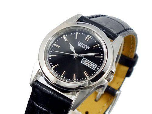 Ladies' Citizen Quartz Day-Date Strap Watch Citizen. $69.99