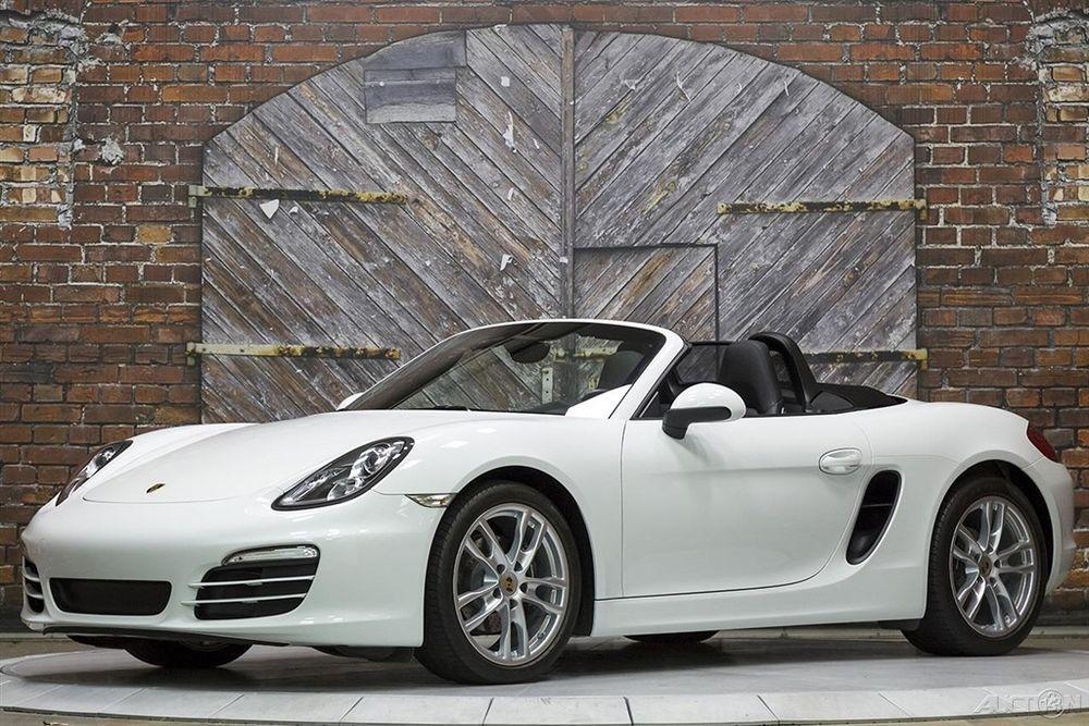 2013 Porsche Boxster 6Speed Manual White Black 13k Miles