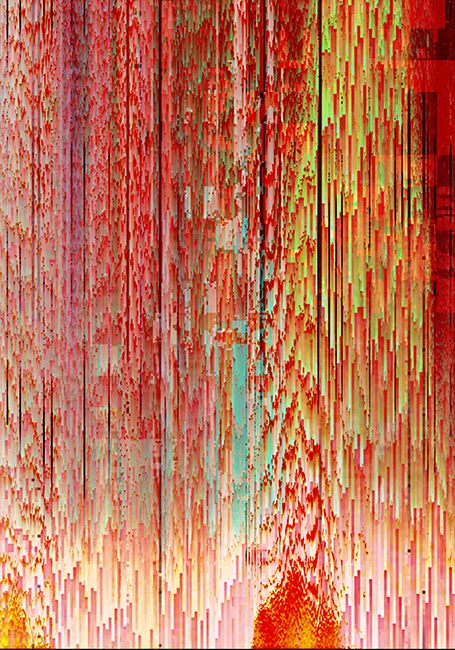 Glitch Abstracts -  James Usill