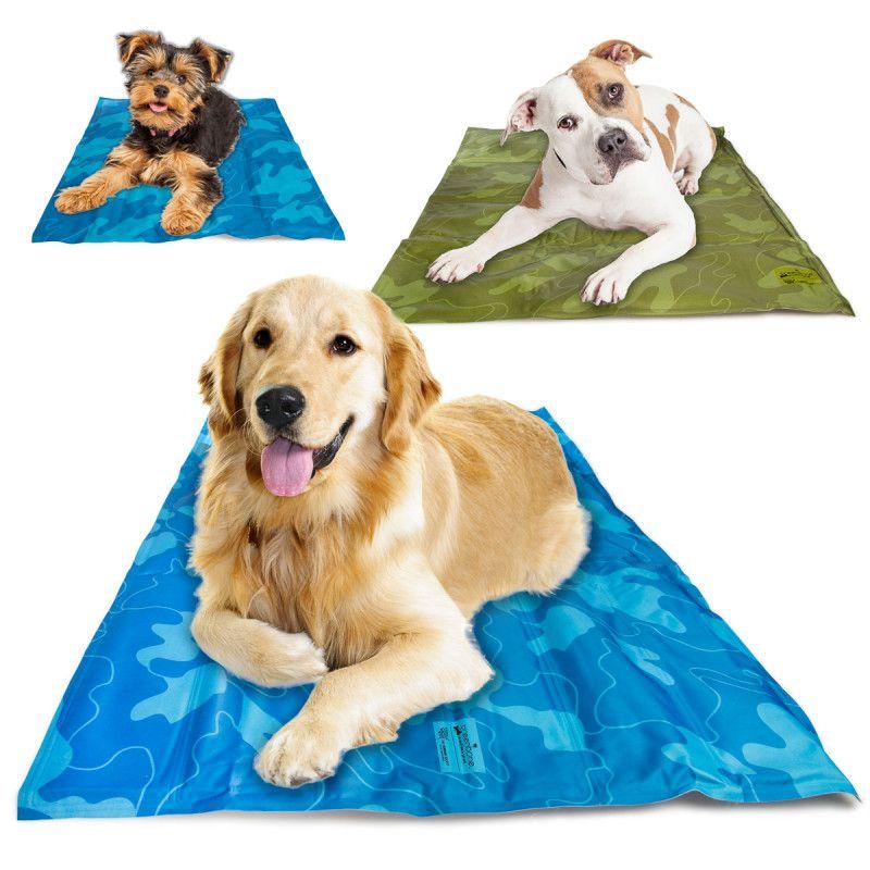 Self Cooling Gel Pet Mat Keep Dogs Cool With No Refrigeration Pet Mat Pets Pet Cooling Mat
