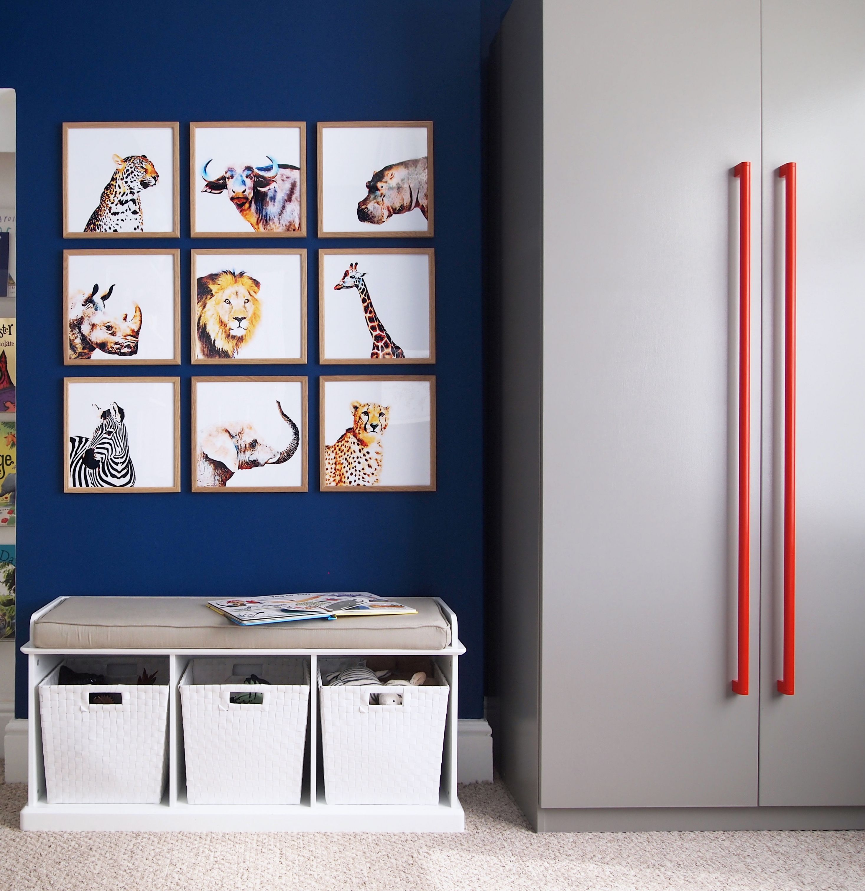 Bedrooms Diy Watercolour Animal Art