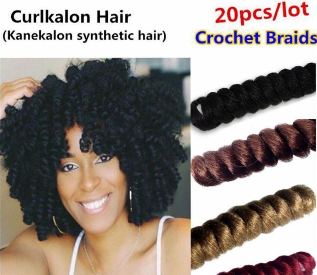 Crochet Braids With Curlkalon Toni Curl Hair Extension Ombre Color