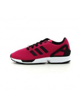 vente chaude en ligne 38ce3 ed996 ADIDAS ZX FLUX FEMMES ROSE / NOIR CHAUSSURES | Adidas ZX ...