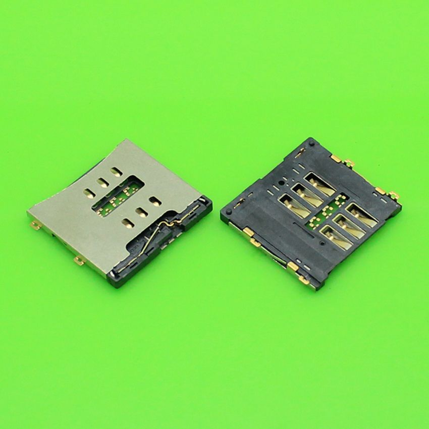 timeless design 20e42 dc86f US $0.13] & ChengHaoRan 1 Piece For iphone 4 sim card reader holder ...