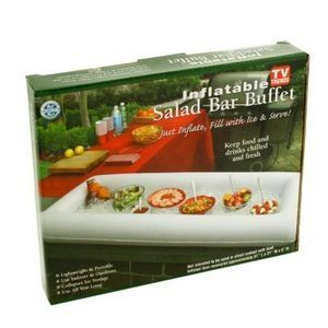 bbq party buffet ideas inflatable salad bar buffet server ice drinks food cooler bbq parties - Cold Buffet Server