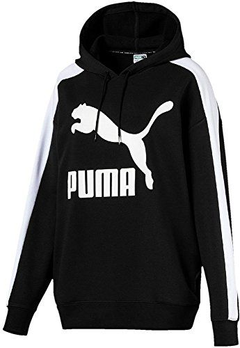 f37a82bd49 Puma 576249 Sweat-Shirts Femme Cotton Black FR : L (Taille Fabricant : L)