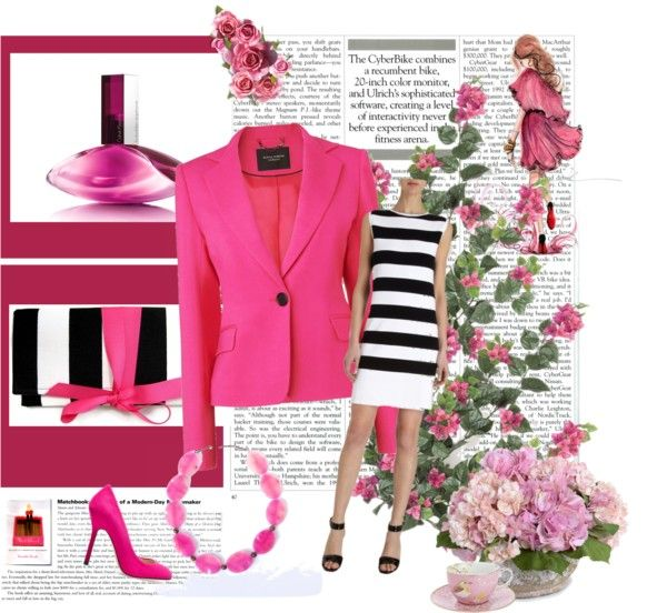 """Pink statement"" by office-4 on Polyvore"
