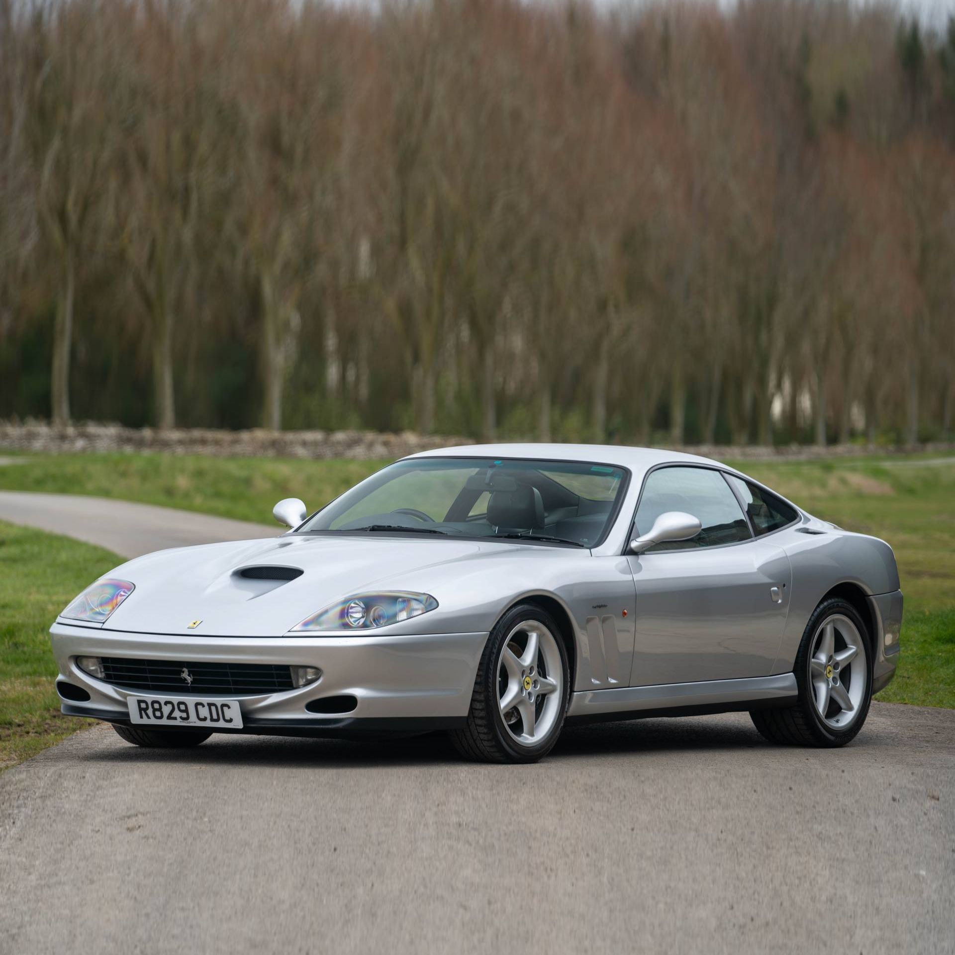 A Modern Classic In Excellent Condition This Stunning 1998 Ferrari 550 Maranello Comes Equipped With A 485hp Producing 5 5 Li Classic Trader Maranello Ferrari